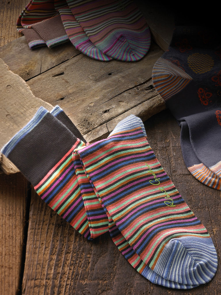 Robert Graham Mid-Calf Socks