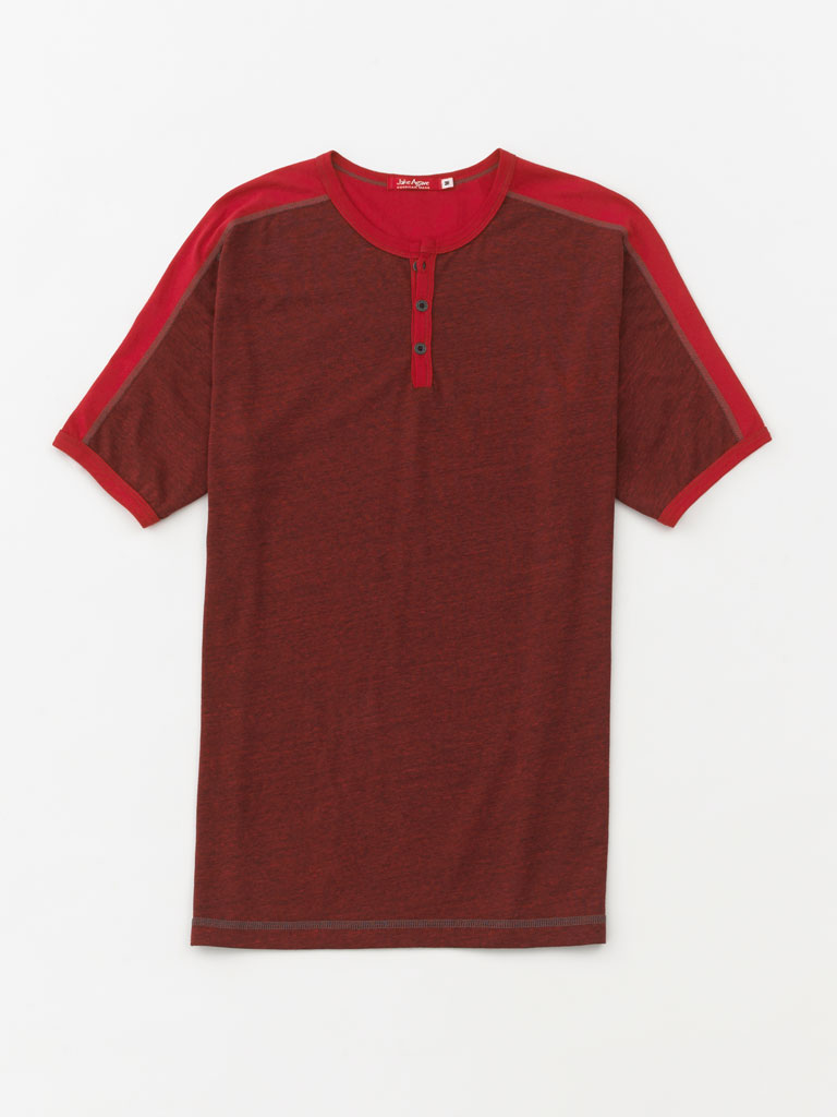 Short Sleeve Henley by Jake Agave