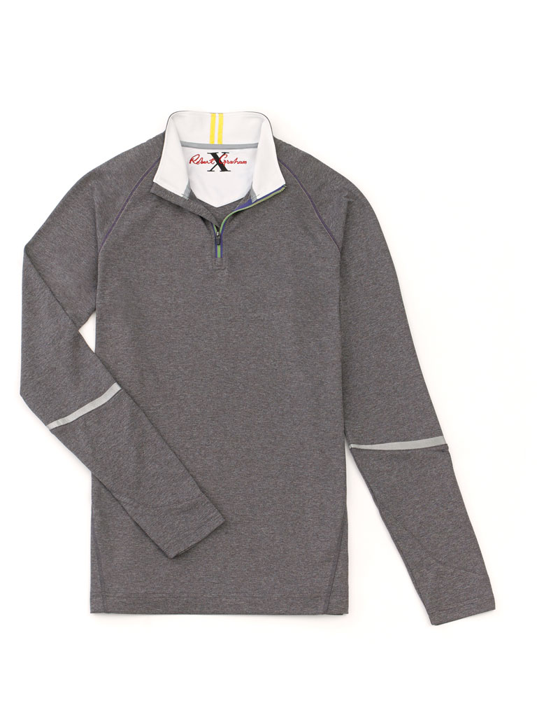 1/4 Zip Pullover by Robert Graham