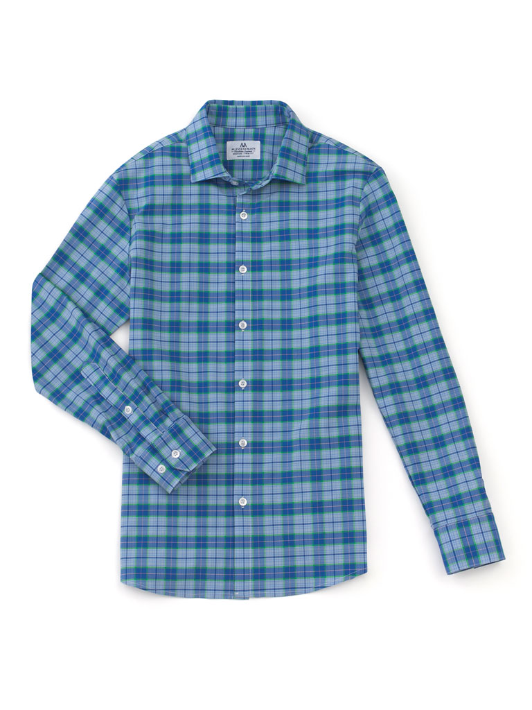 Plaid Sportshirt by Mizzen & Main