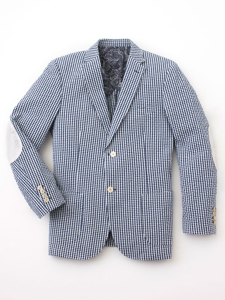 Sport Coat with Patch Elbows by Tom James