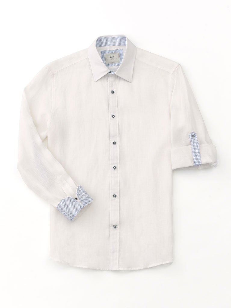Linen Sport Shirt by Report