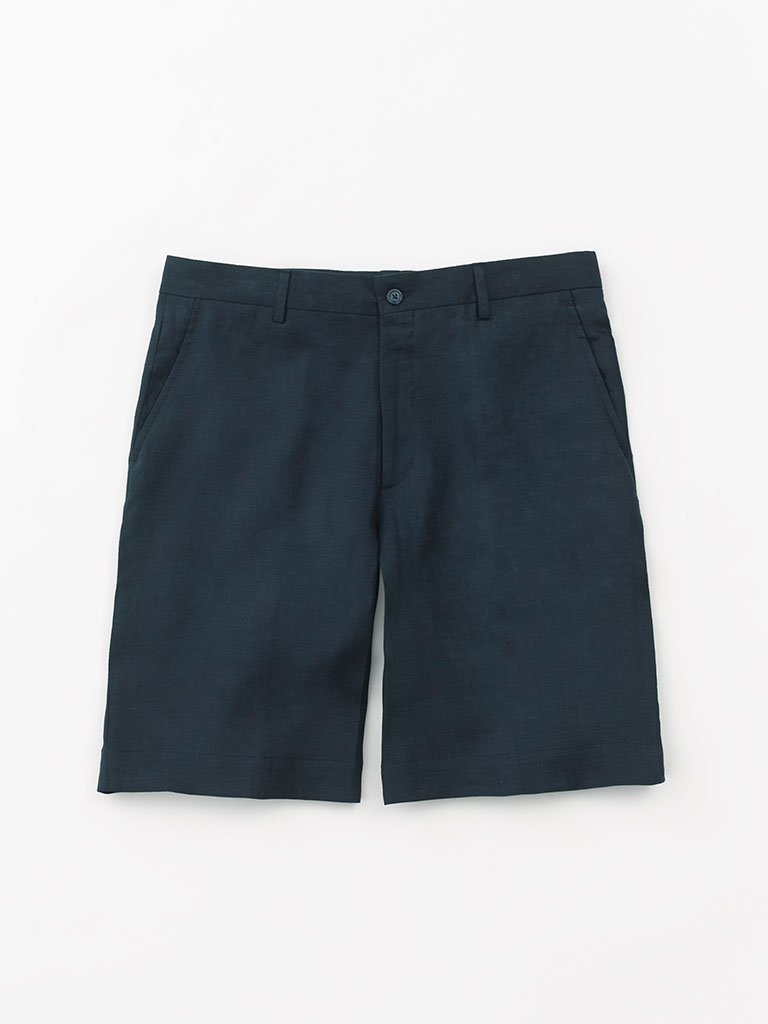 Linen Shorts by Tom James