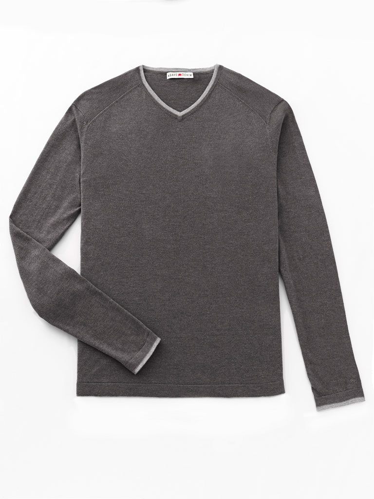 V-Neck Raglan Sleeve Knit by Agave
