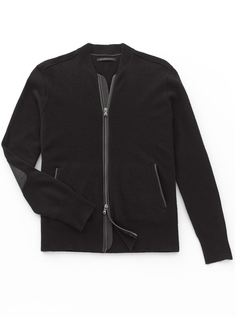 Zip-Up Sweater by John Varvatos