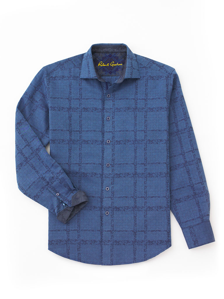 Long Sleeve Sport Shirt by Robert Graham