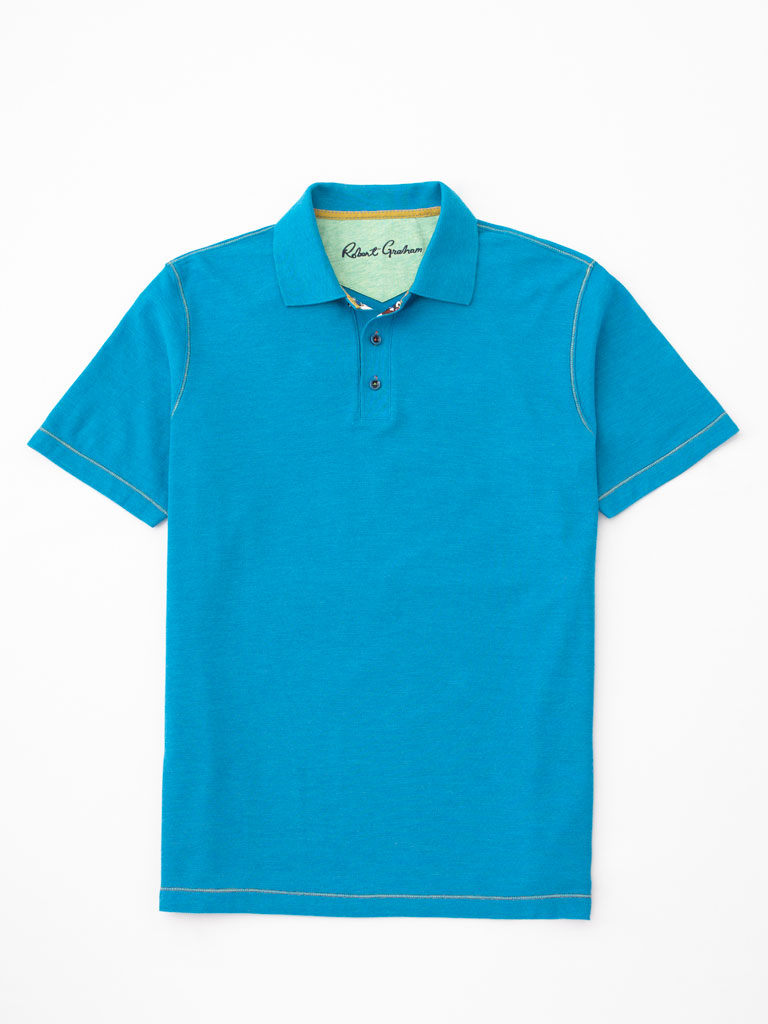 Cotton Blend Sport Shirt by Robert Graham