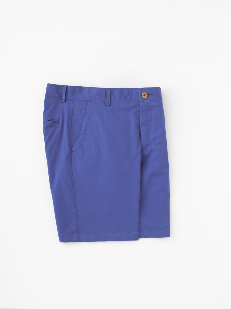 Stretch Cotton Blend Shorts By Robert Graham