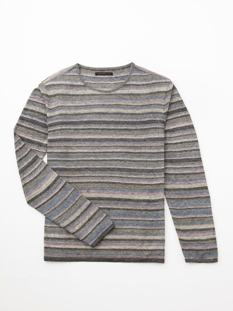 Pure Linen Knit Sweater by John Varvatos