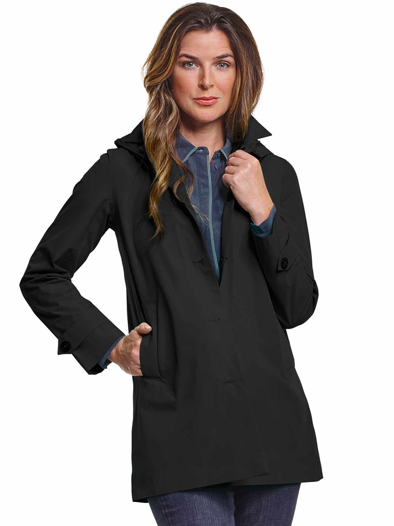 Ladies Rain Jacket by Save the Duck