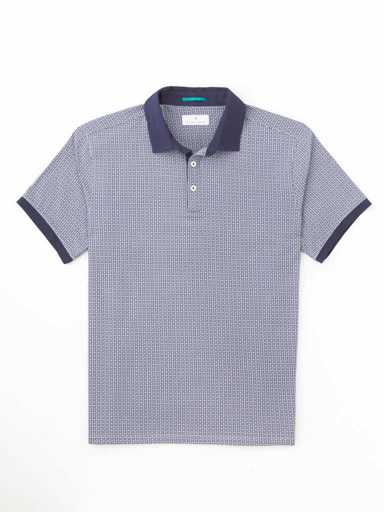Italian Cotton Polo by Tom James