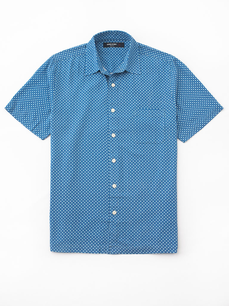 Short Sleeve Sport Shirt by Tom James