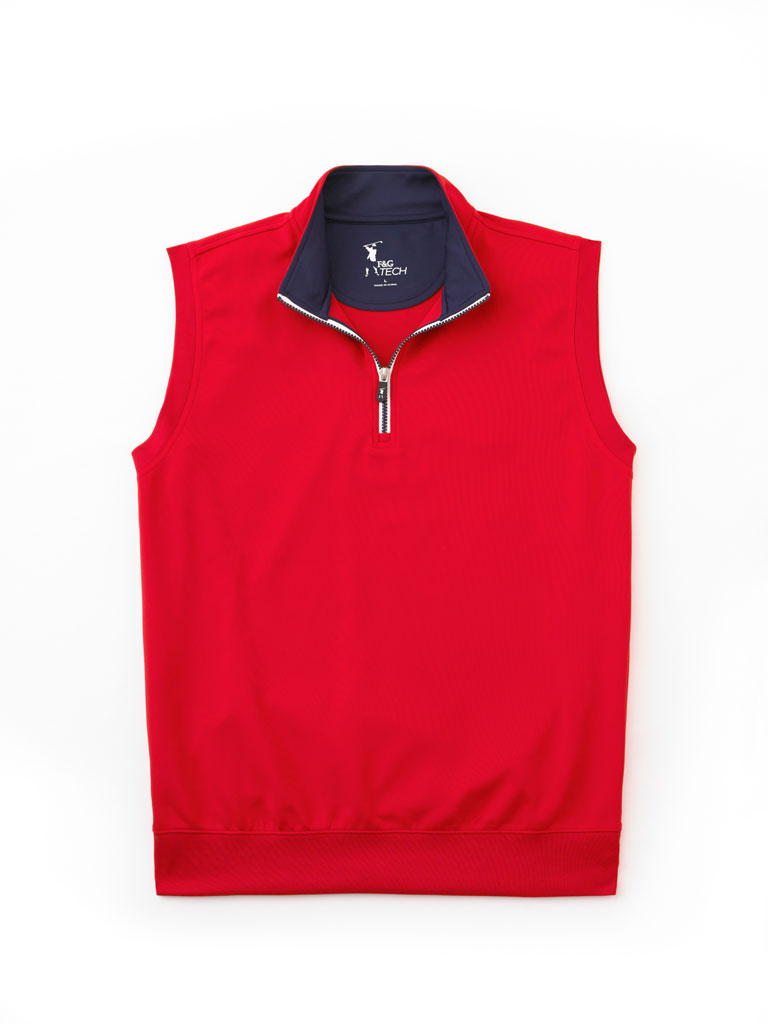 Tech Jersey Vest by Fairway & Greene