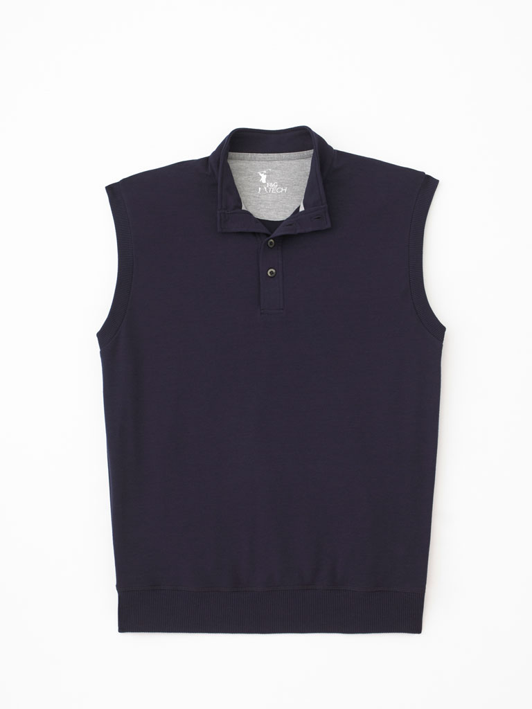 Brushed Cotton Terry Vest by Fairway & Greene