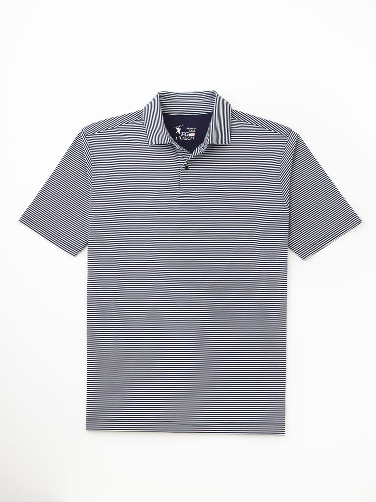 Self-Collared Tech Polo by Fairway & Greene