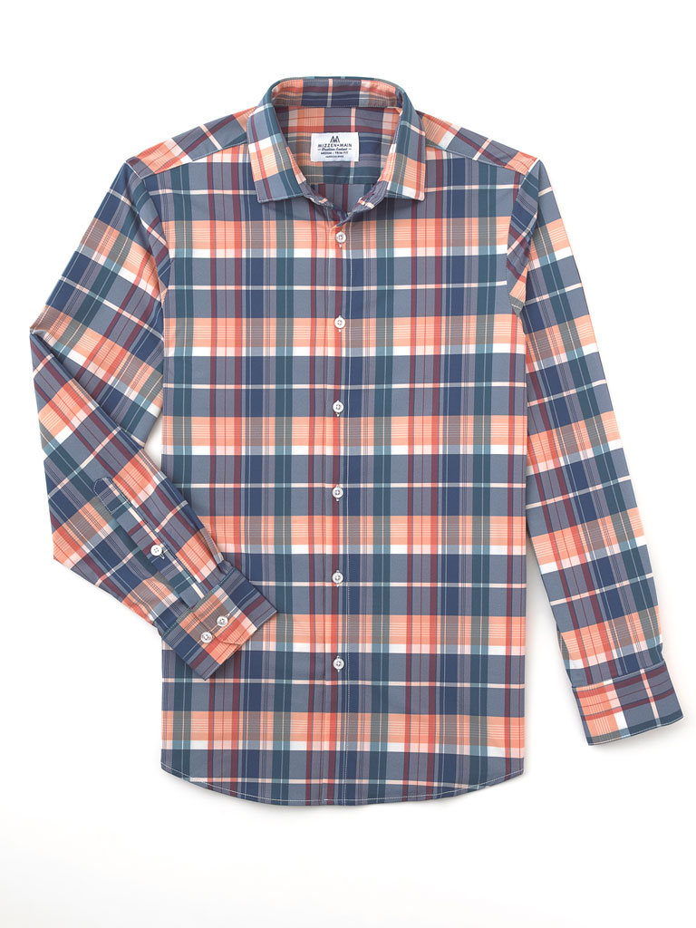 Plaid Sport Shirt by Mizzen and Main