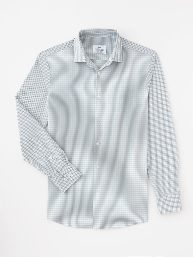 Graph Check Sport Shirt by Mizzen and Main