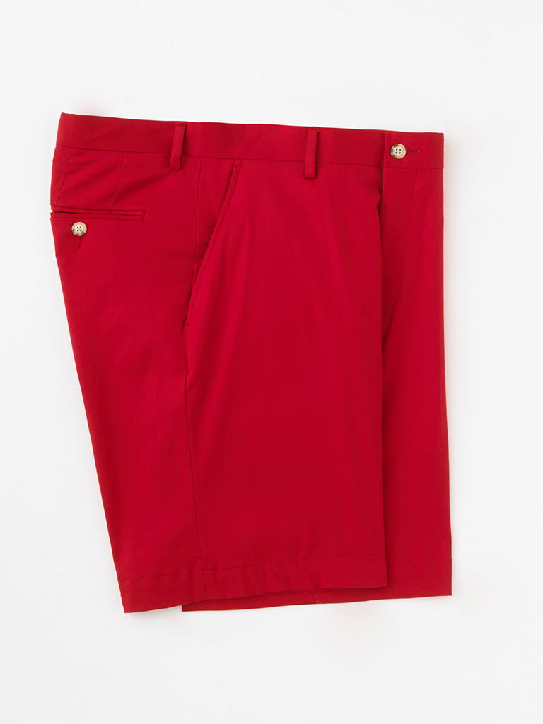 Cotton Twill Shorts by Tom James