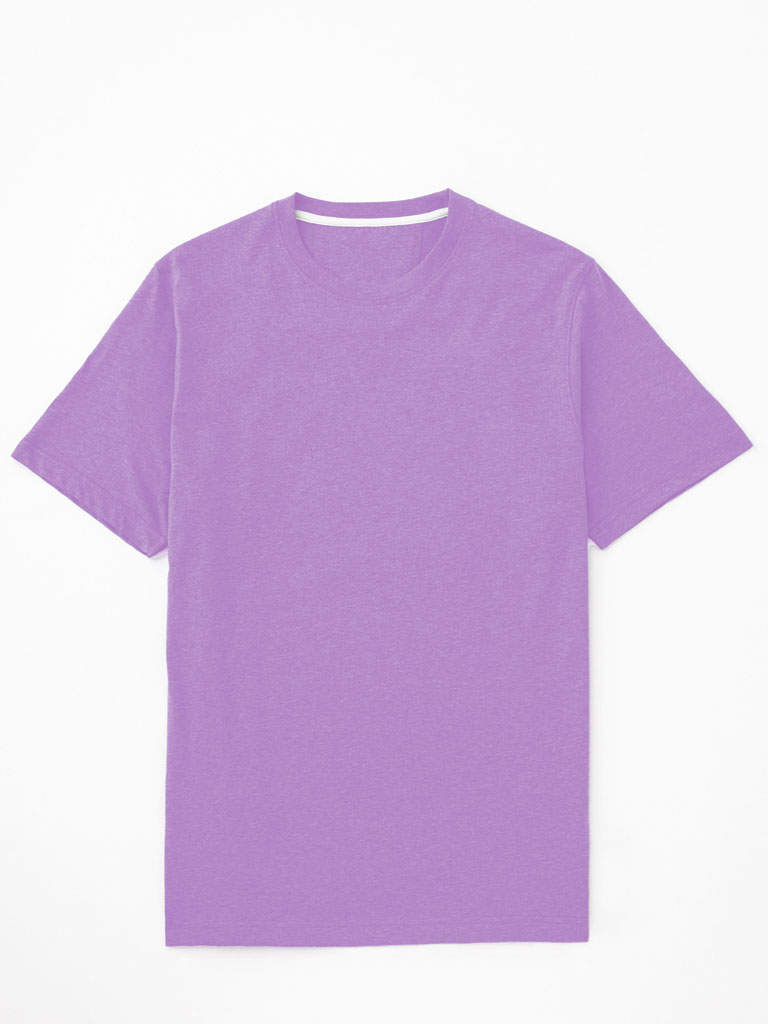 Short Sleeved Crew Neck T-Shirt by Tom James