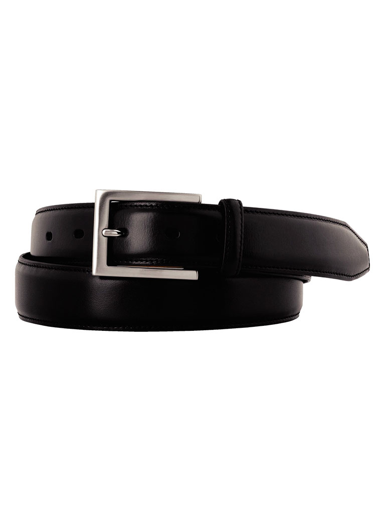 Black Johnston & Murphy Dress Belt