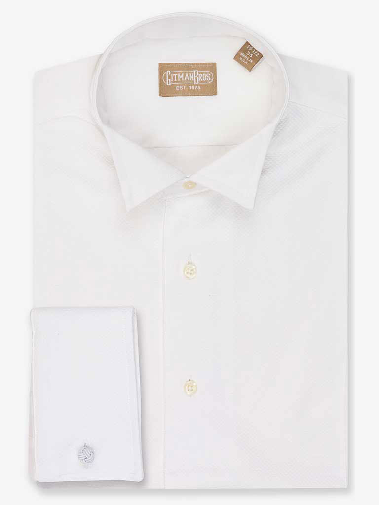 Formal Dress Shirt with Wing Tip Collar