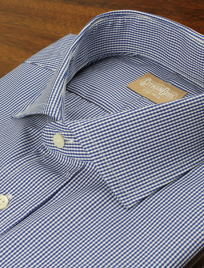 Gingham Check Dress Shirt by Gitman