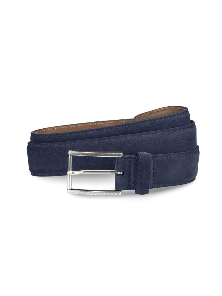 SUEDE AVENUE BELT BY ALLEN EDMONDS