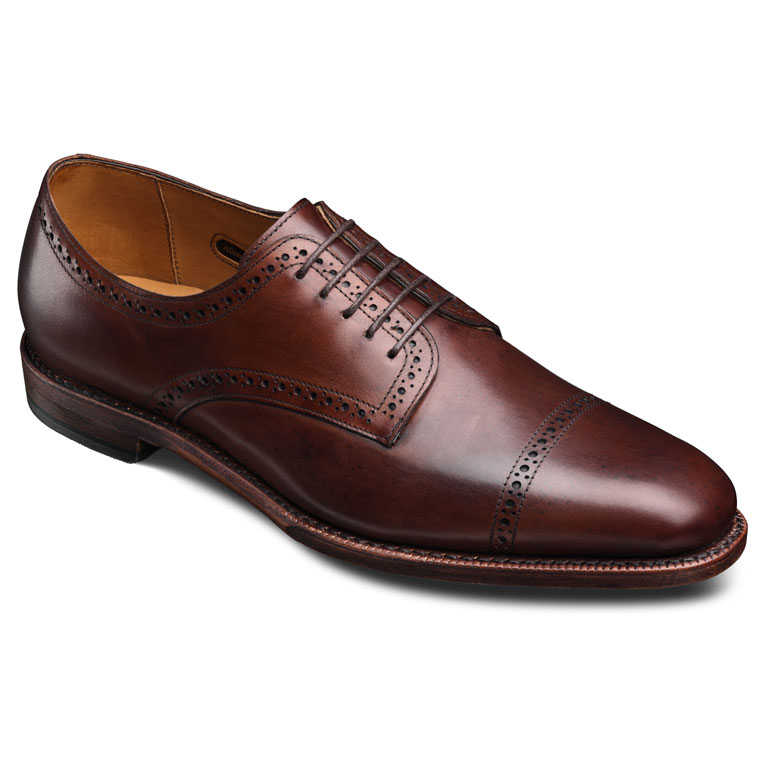 Yorktown Dark Chili Burnished Calf