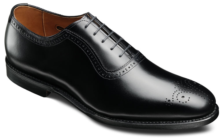 Corwallis Black Burnished Calf