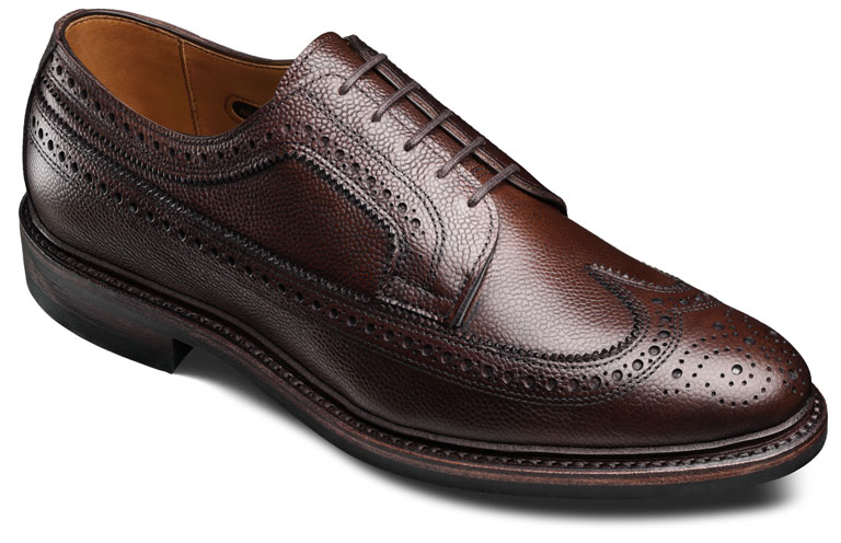 Macneil 2.0 Brown Calf Grain Calf/with Double Dainite Rubber sole