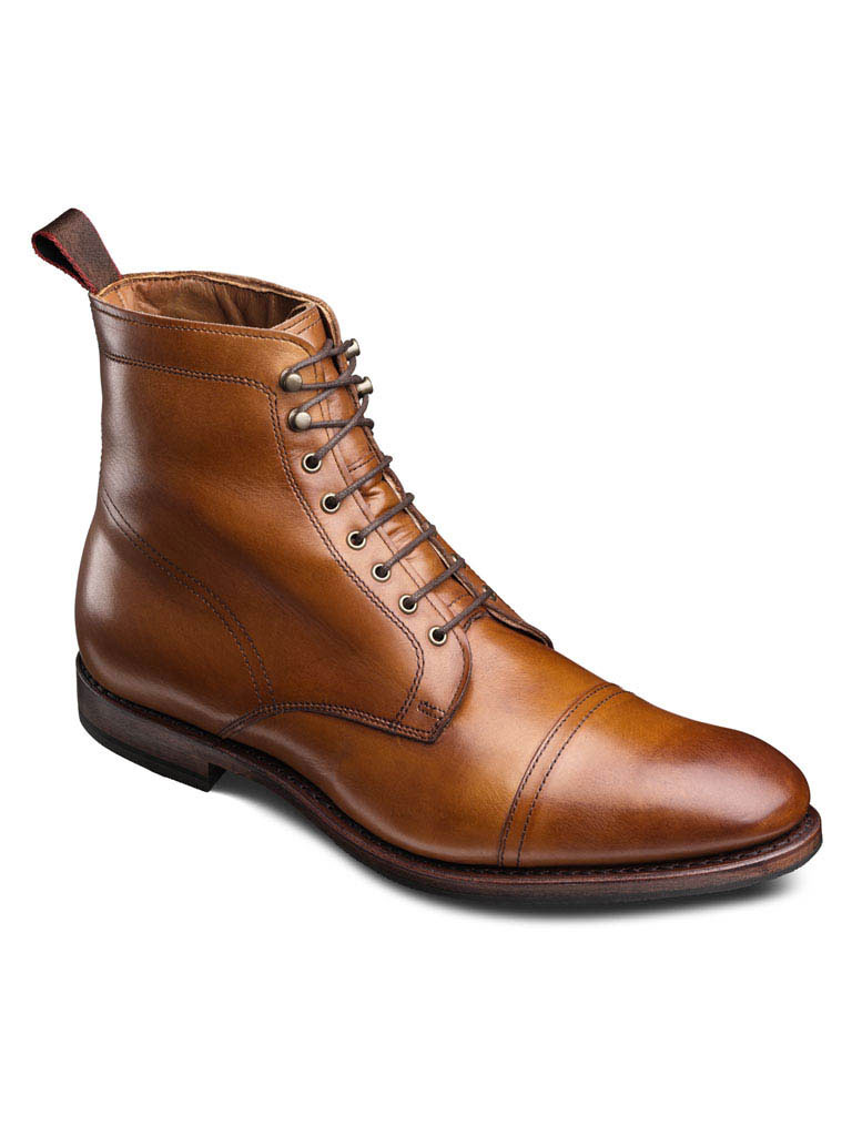 First Ave Walnut Burnished Calf