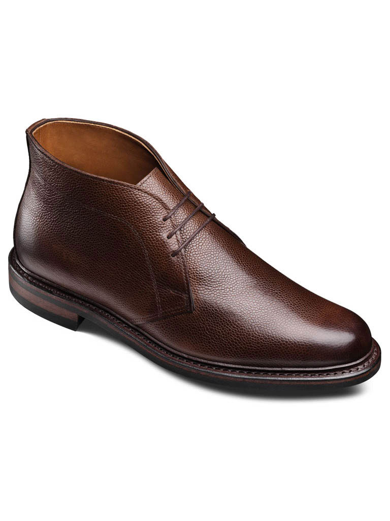 Dundee 2.0 Brown Calf Grain Calf/with Double Dainite Rubber sole