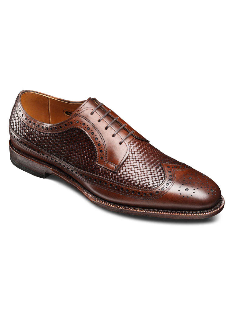 Leiden Weave Dark Chili Burnished Calf/Dark Chili Weave
