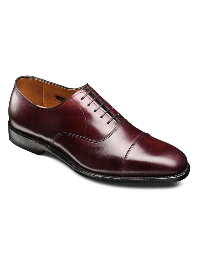 Exchange Place Oxblood Calf