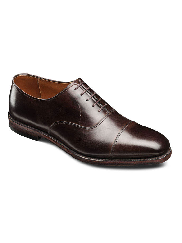 Exchange Place Brown Burnished Calf