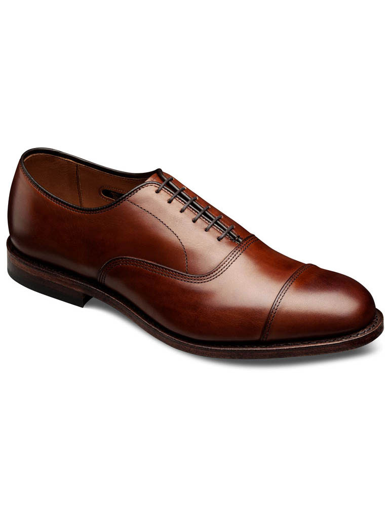 Park Ave Dark Chili Burnished Calf