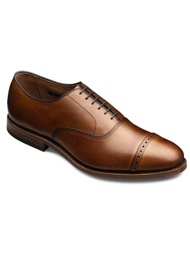 Fifth Ave Walnut Burnished Calf