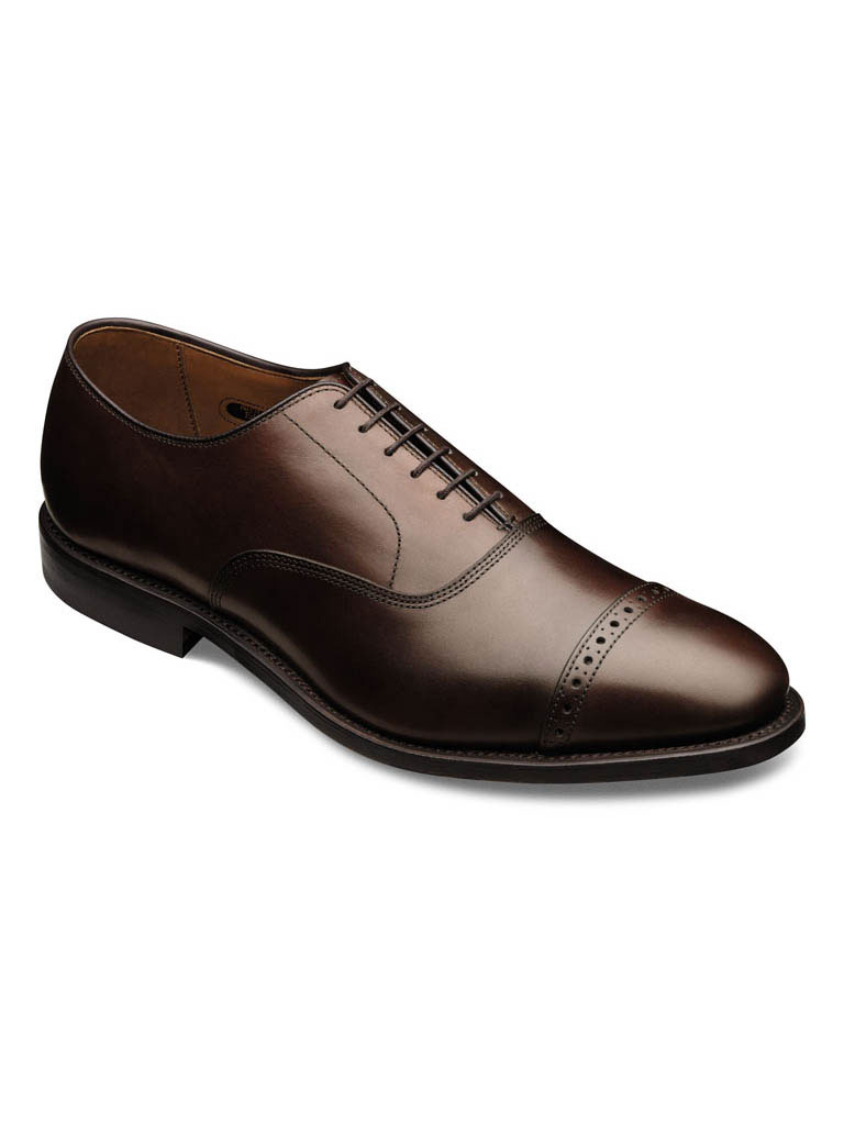 Fifth Ave Brown Burnished Calf