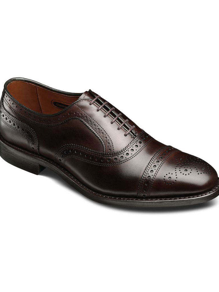 Strand Brown Burnished Calf