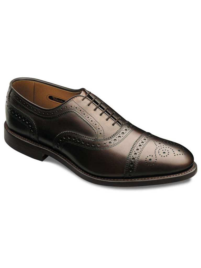 Strand Dark Brown Burnished Calf