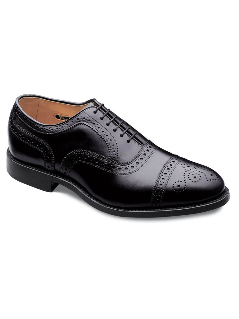 Strand Black Custom Calf w/Black Dainite rubber sole