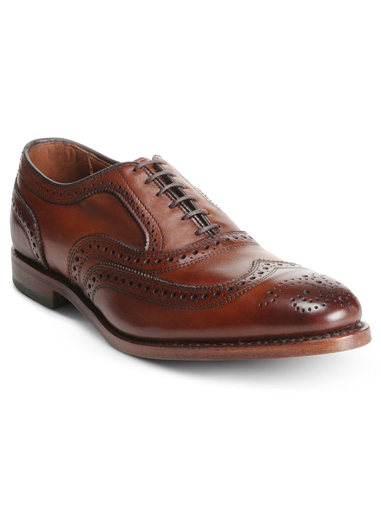 McAllister Dark Chili Burnished Calf