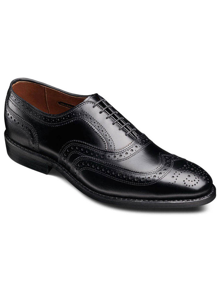 McAllister Black Calf with Black Dainite rubber sole