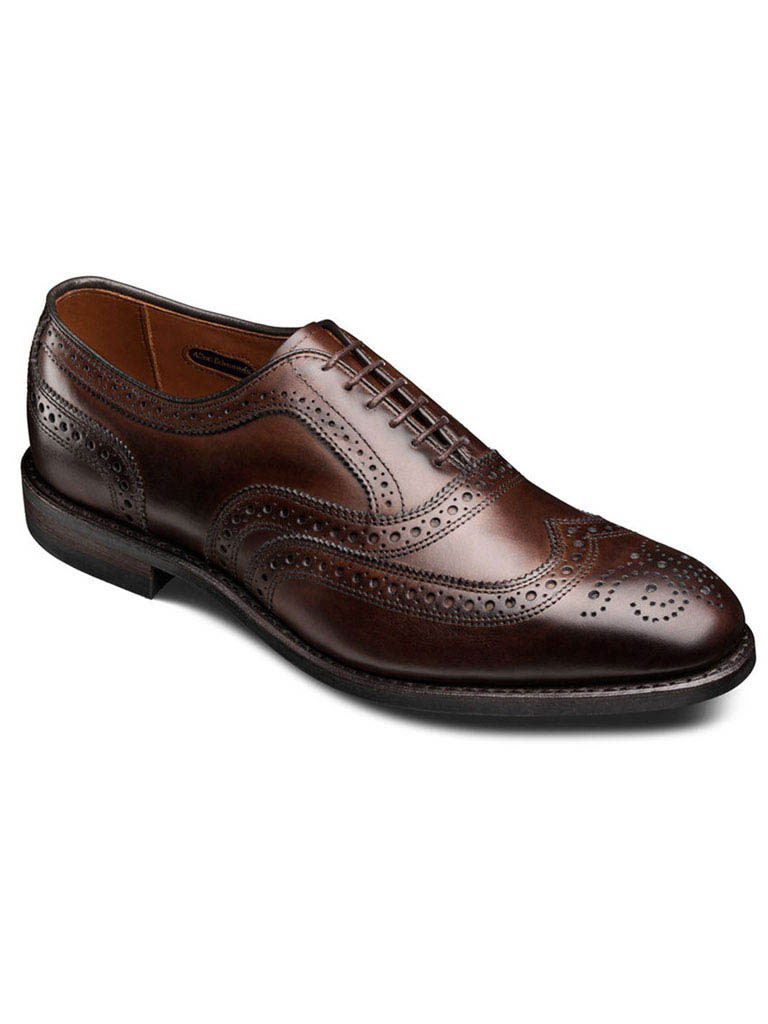 McAllister Brown Burnished Calf