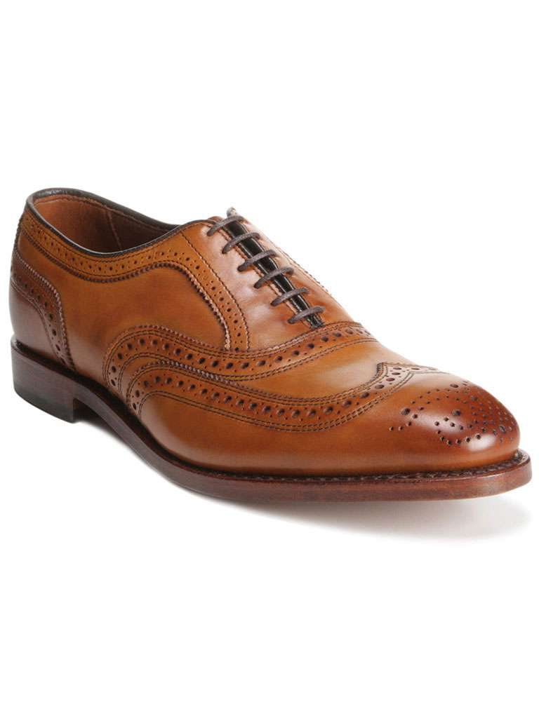 McAllister Walnut Burnished Calf