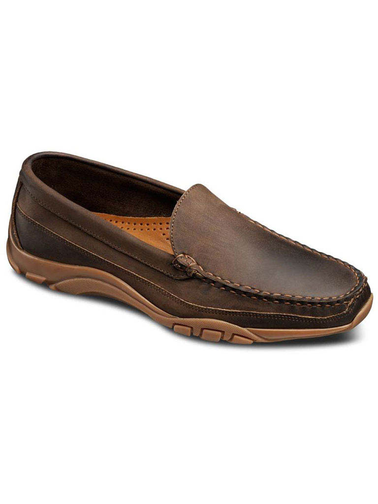 Boulder Tan Leather/Brown Trim