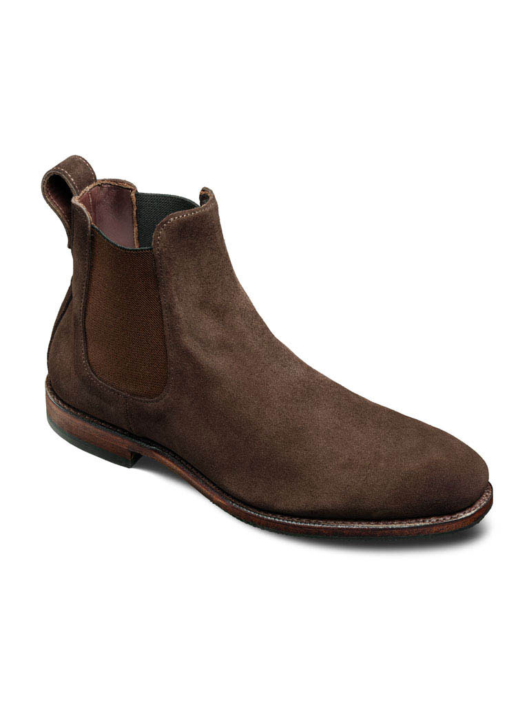 Liverpool Brown Suede