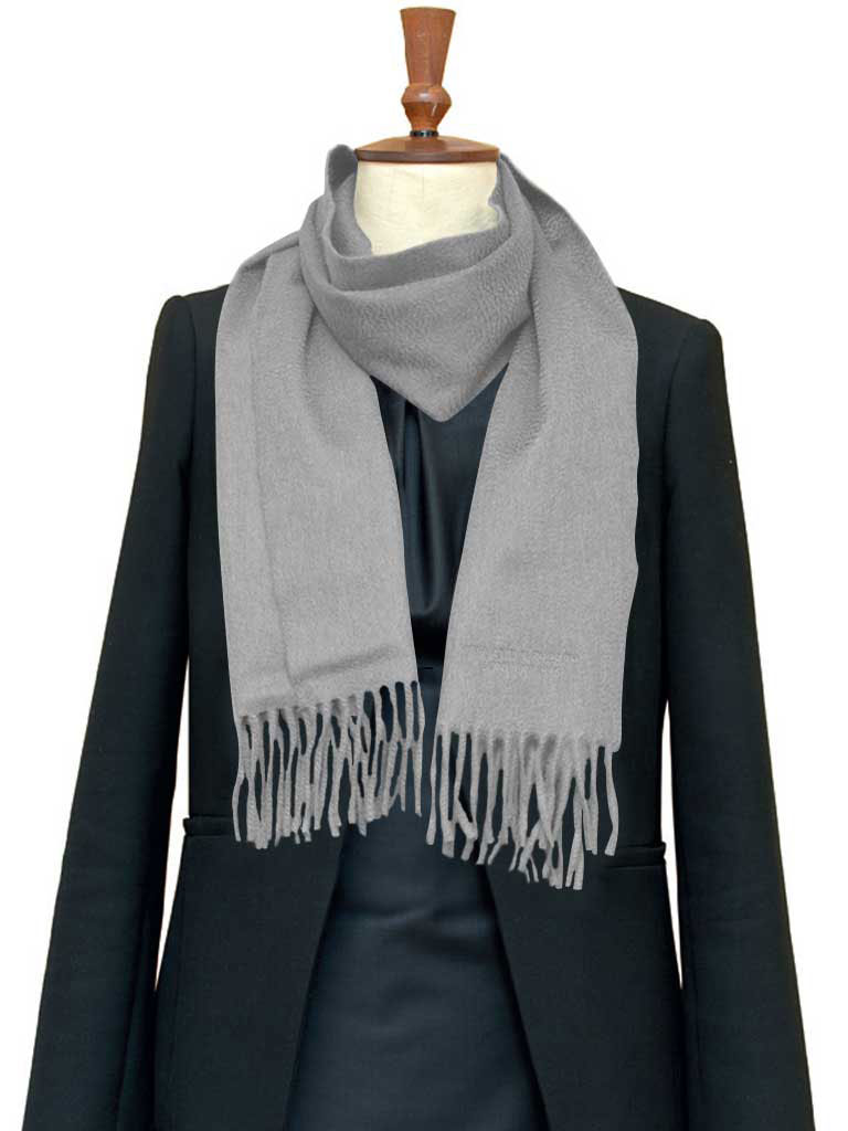Luxury Pure Cashmere Scarf - Regular