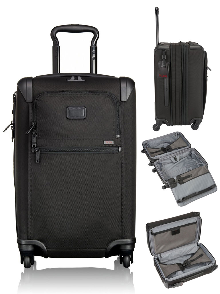 TUMI International Expandable 4 Wheeled Carry-On