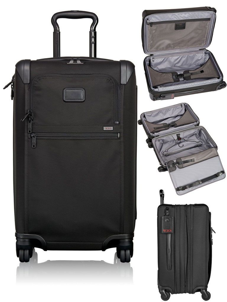 TUMI Expandable 4 Wheeled Carry-On